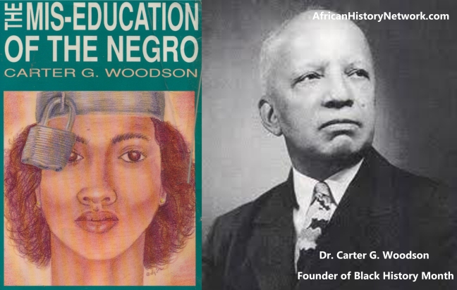 Dr. Carter Woodson - Miseducation of The Negro