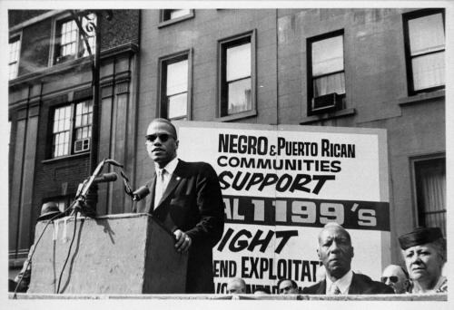 Malcolm X and A. Philip Randolph 1962