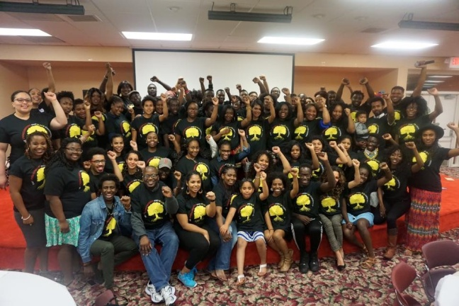 Participants 2016 Undocumented and Black Conference in Miami