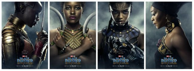The Women of Wakanda Black Panther